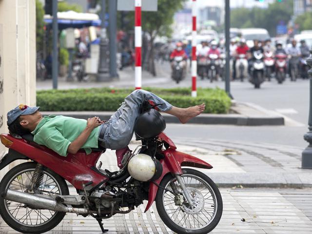 Life on Two Motorised Wheels in Saigon