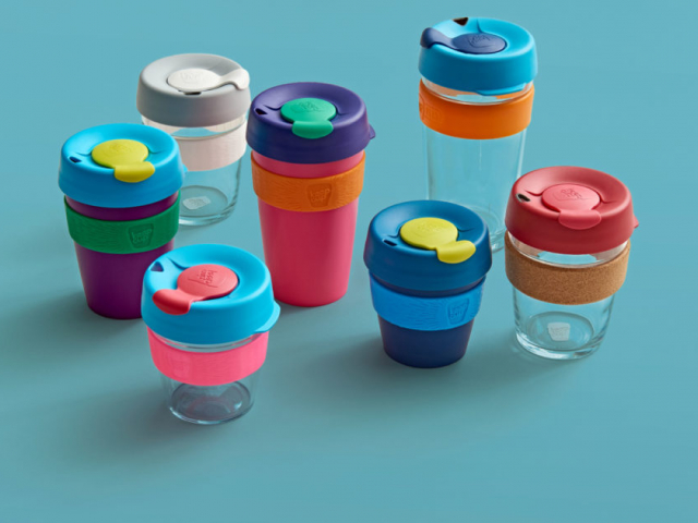 Use it and don't throw it away! KeepCup it!