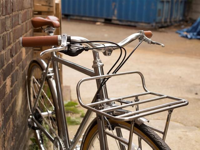 Gradski bicikl za po gradu. I točka. I uskličnik.