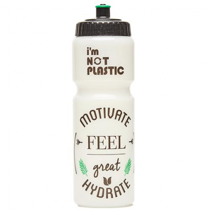 WATER BOTTLE BIO MOTIVATE 750ml CYCLE GIFTS