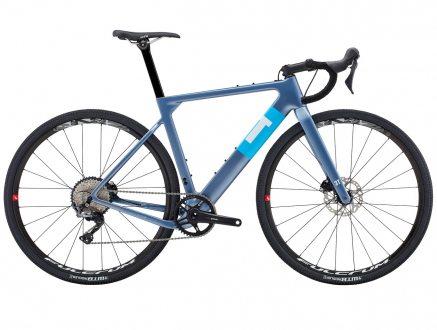 BICYCLE EXPLORO FM PRO GRX GREY/BLUE 3T
