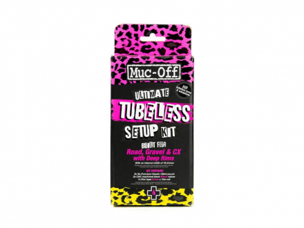 TUBELESS SETUP SET ULTIMATE 60mm/21mmX10m MUC-OFF