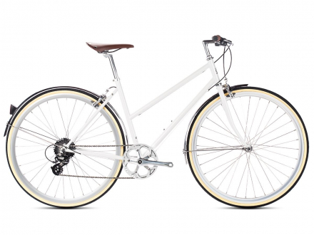 BICYCLE ODESSA LADIES 8SPD CONEY WHITE 6KU
