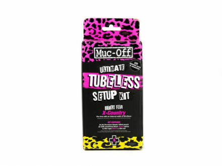 TUBELESS SETUP SET ULTIMATE 44mm/25mmX10m MUC-OFF