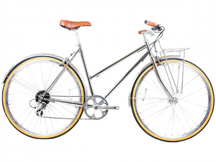 BICYCLE BUTTERFLY 8SPD CHROME BLB